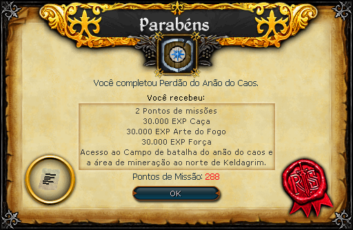Perdão do Anão do Caos recompensas.png
