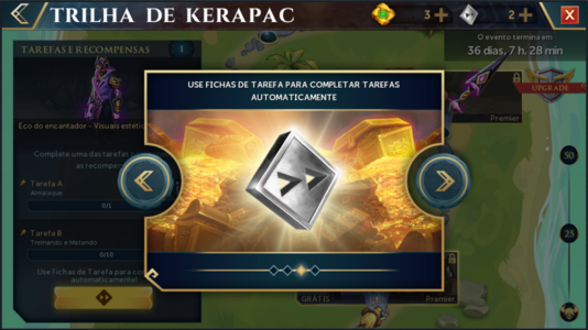 Trilha de Kerapac interface introdutória 3.png