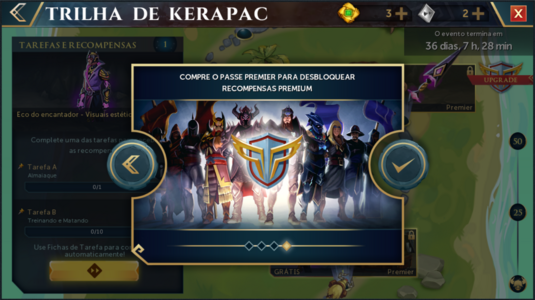 Trilha de Kerapac interface introdutória 4.png